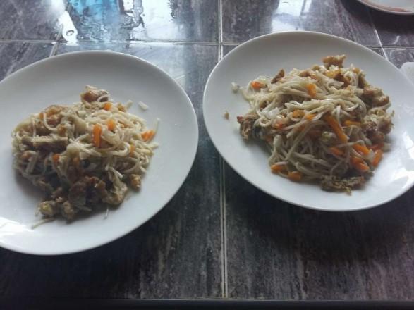 Рецепт noodles с курицей.